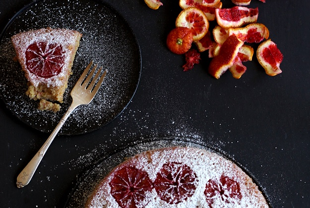 Almond Blood Orange Cake