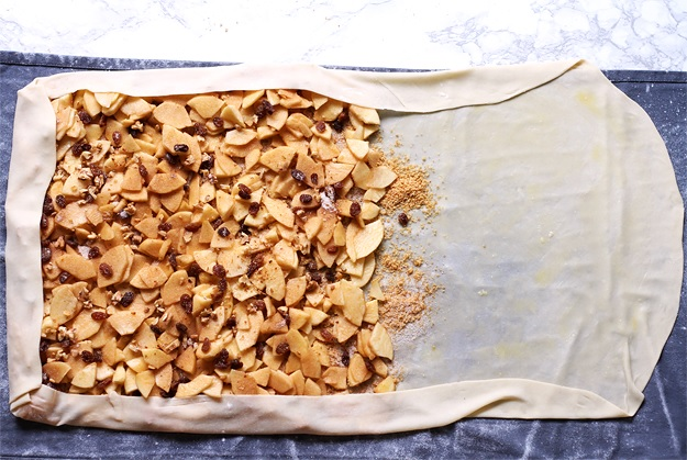 Apple Strudel from scratch recipe
