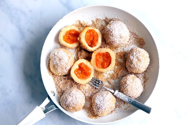 Apricot Dumplings recipe Austria