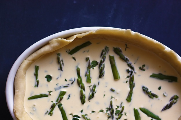 Asparagus Quiche Crust