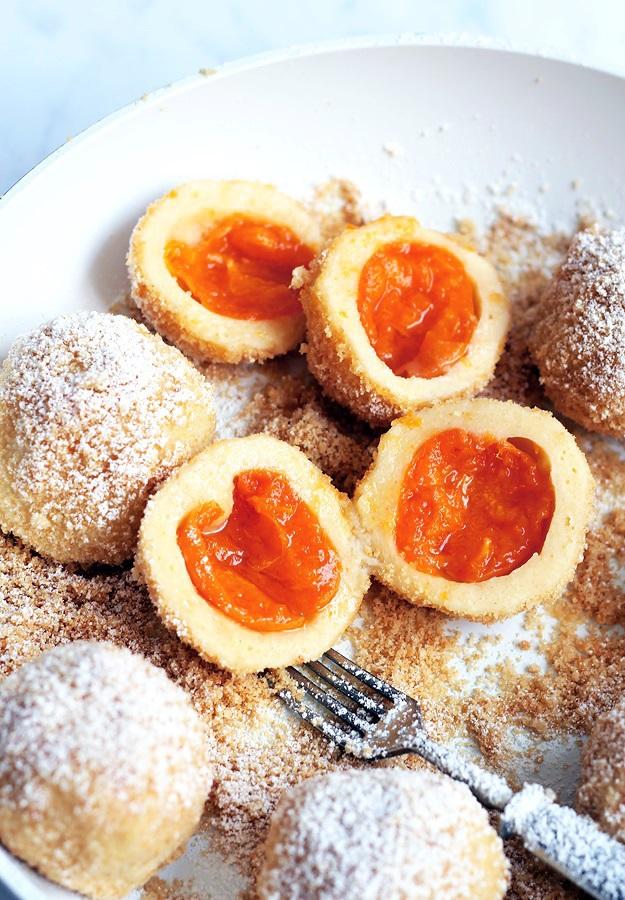 classic apricot dumplings