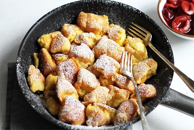 Austrian Kaiserschmarrn emperors mess shredded pancakes recipe