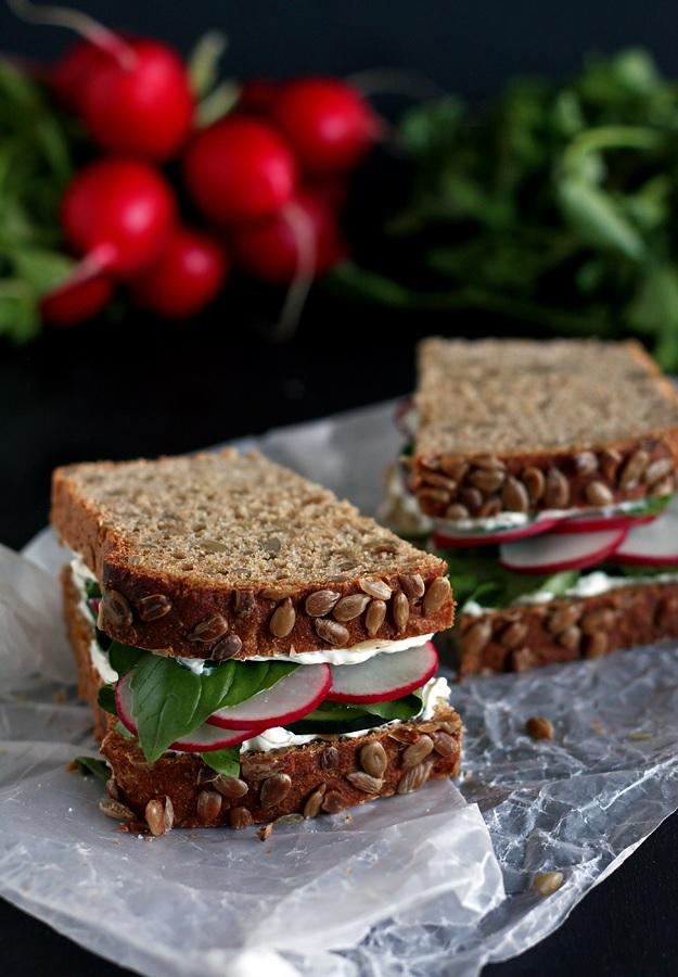 Summer Sandwich Sunflowerbread