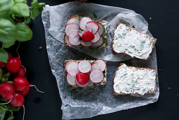 Austrian Sandwich with homemade Sunflowerbread