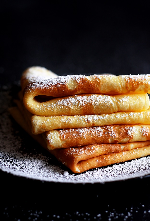 Austrian crepes Palatschinken recipe