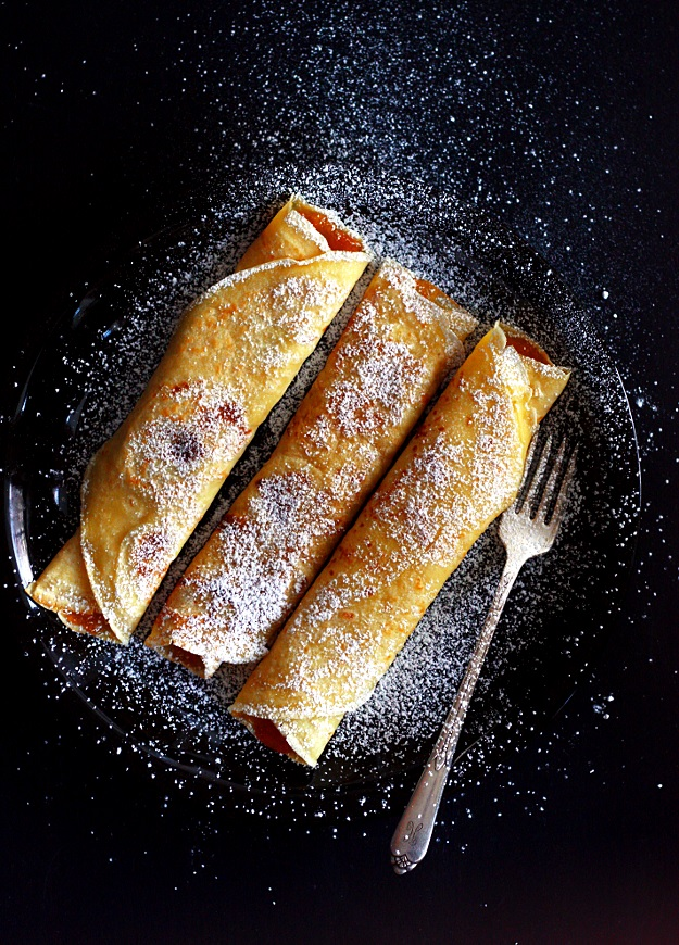 Austrian crepes filled with jam recipe