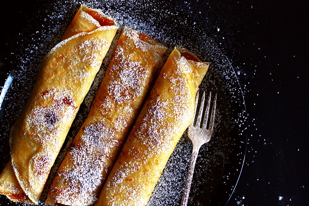 Austrian filled crepes recipe