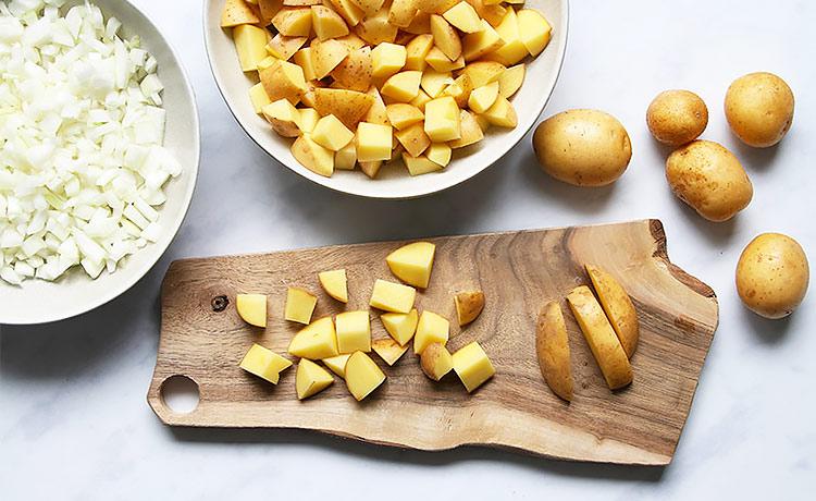 Austrian potato goulash vegan