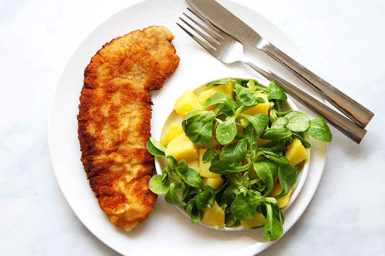 Authentic Pork Schnitzel recipe