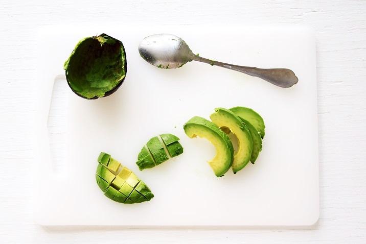 Avocado for Ahi Poke Bowl