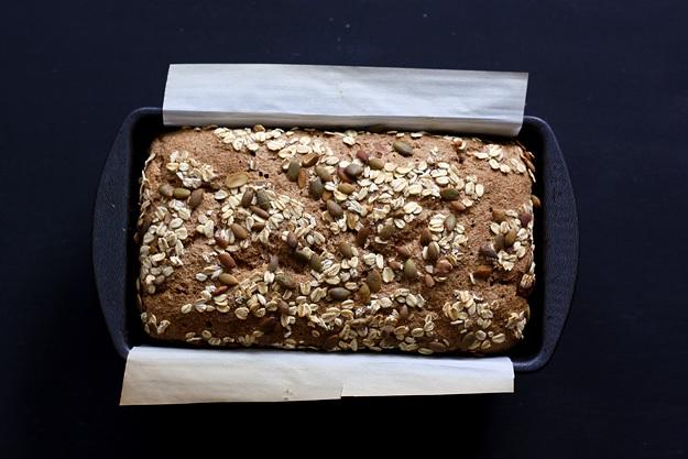 Baking rye sourdough bread