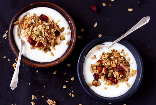 Basic fuss free granola recipe