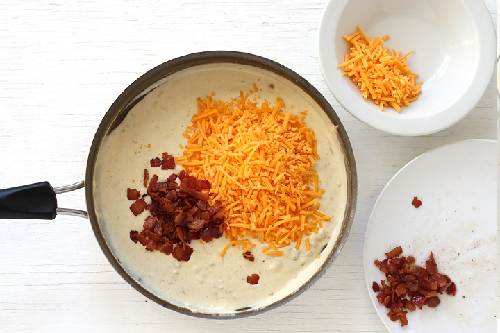 Beer Bacon Cheese Dip - Step by step recipe