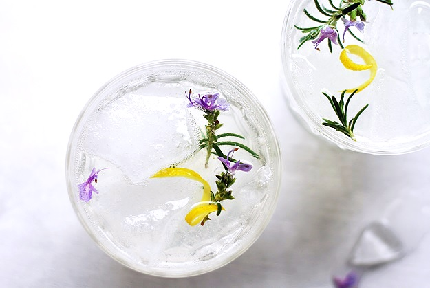 Best Rosemary Gin Fizz Cocktail
