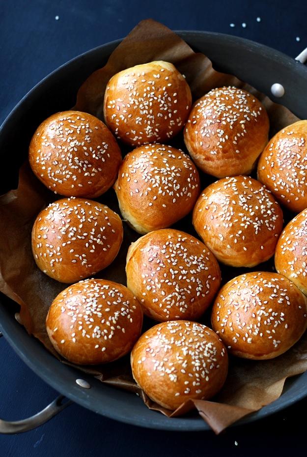 Brioche Slider Buns Burger Recipe
