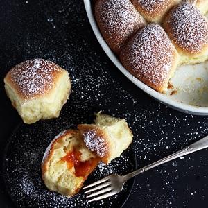 Buchteln - Austrian Yeast Buns Recipe