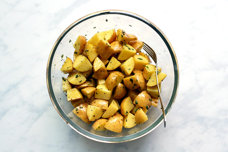Crispy Oven Roasted Potatoes Recipe