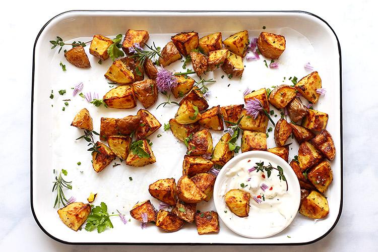 Crispy Roasted Potatoes Recipe Oven