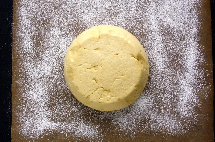 Dough for Krapfen Austrian Donuts