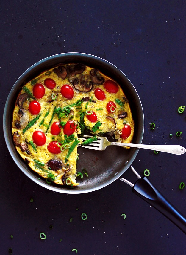 Easy Vegetable Stovetop Frittata
