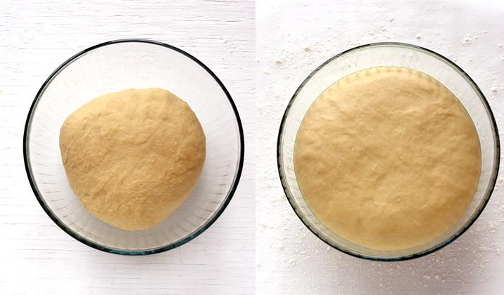 Easy dough for homemade doughnuts