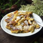 Austrian Elderflower-Kaiserschmarrn (Shredded Pancake)