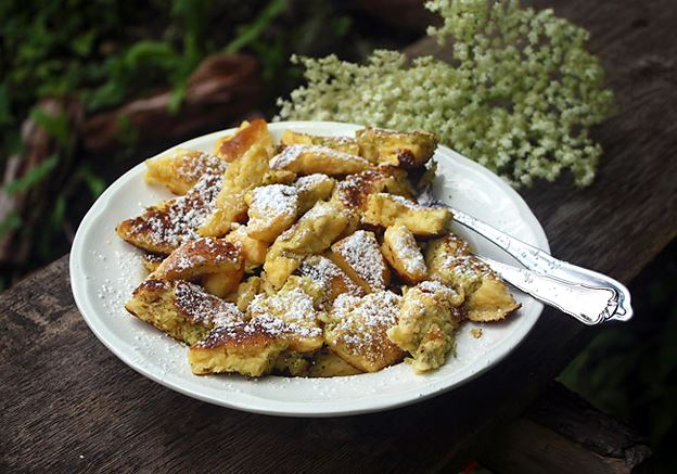 Elderflower Kaiserschmarrn