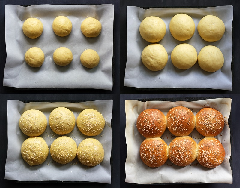 Recipe Brioche Buns - step by step