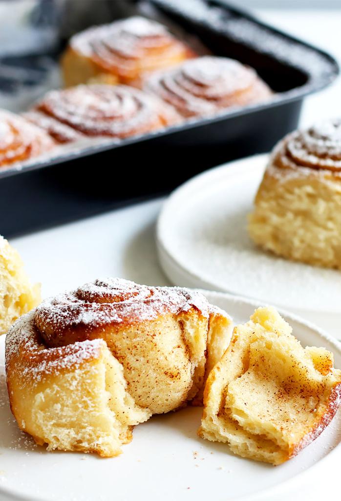 Fluffy Overnight Cinnamon Rolls Recipe