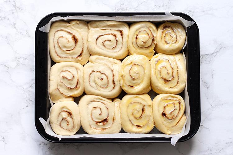 Fluffy cinnamon rolls overnight recipe