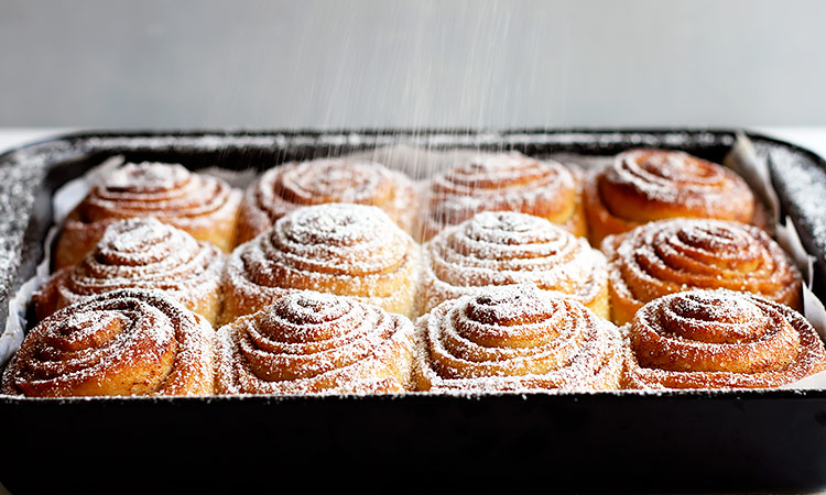 Fluffy cinnamon rolls recipe overnight