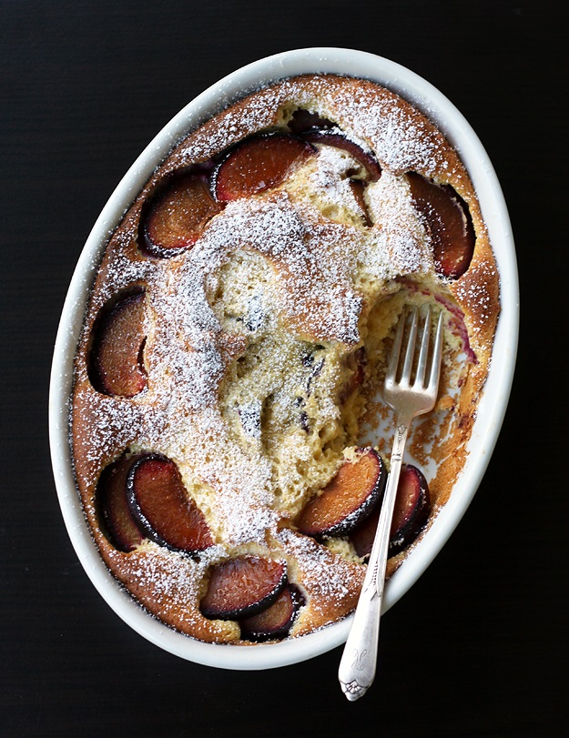 French plum clafoutis recipe