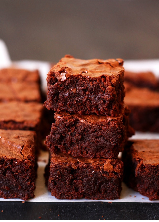 Fudgy chewy brownies reicpe