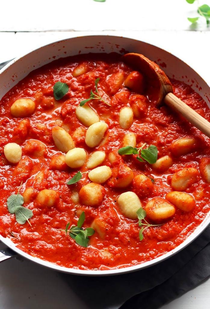 Gnocchi with Tomato Sauce quick Recipe