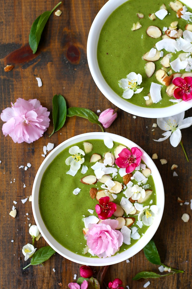 Green Smoothie Bowl Recipe