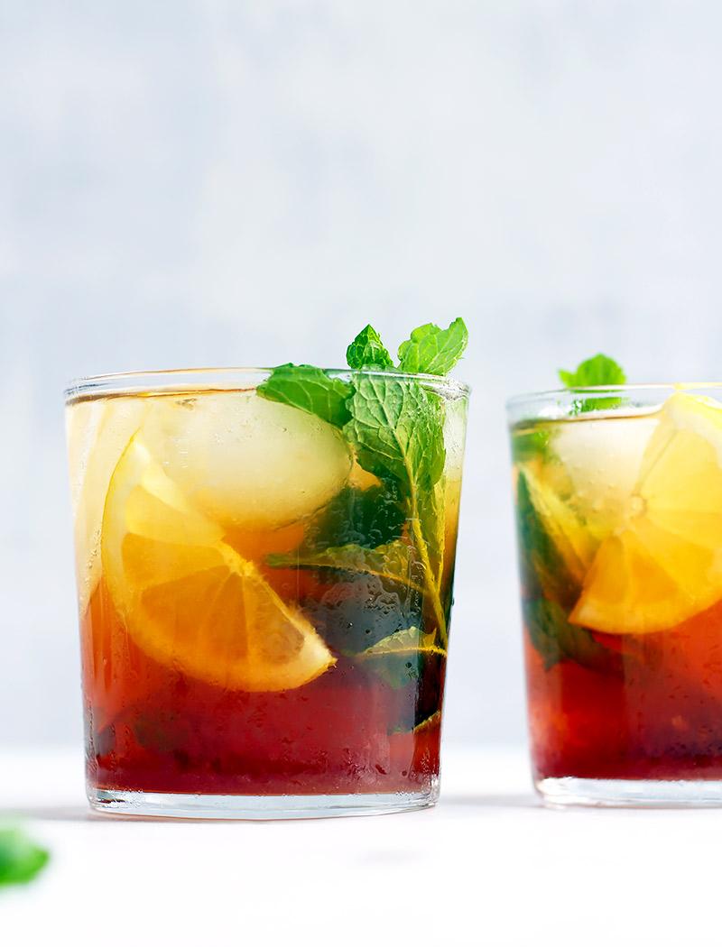 Healthy sugar free iced tea recipe