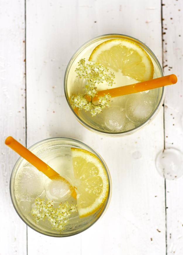Homemade Elderflower syrup recipe
