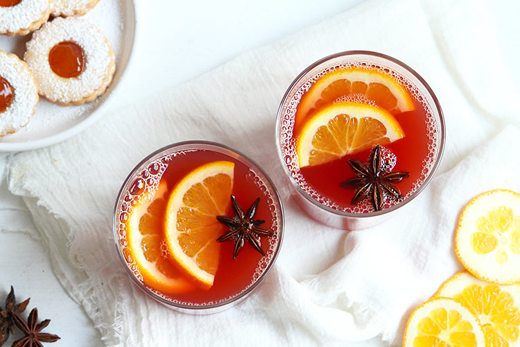 Hot Punch with tea Recipe