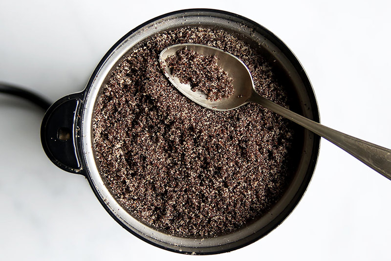 How to grind poppy seeds coffee grinder