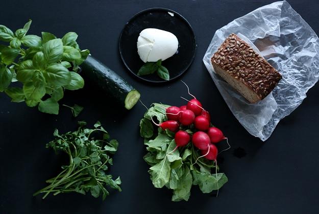 Ingredients Sandwich Sunflowerbread