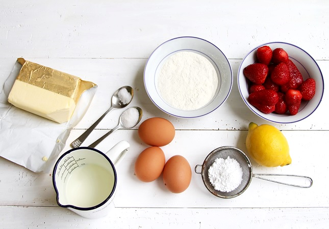 Ingredients for a Dutch Baby