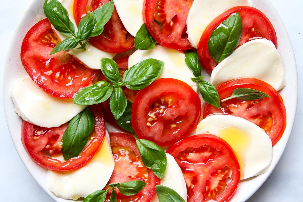 Italian Caprese Salad Recipe Insalata Caprese
