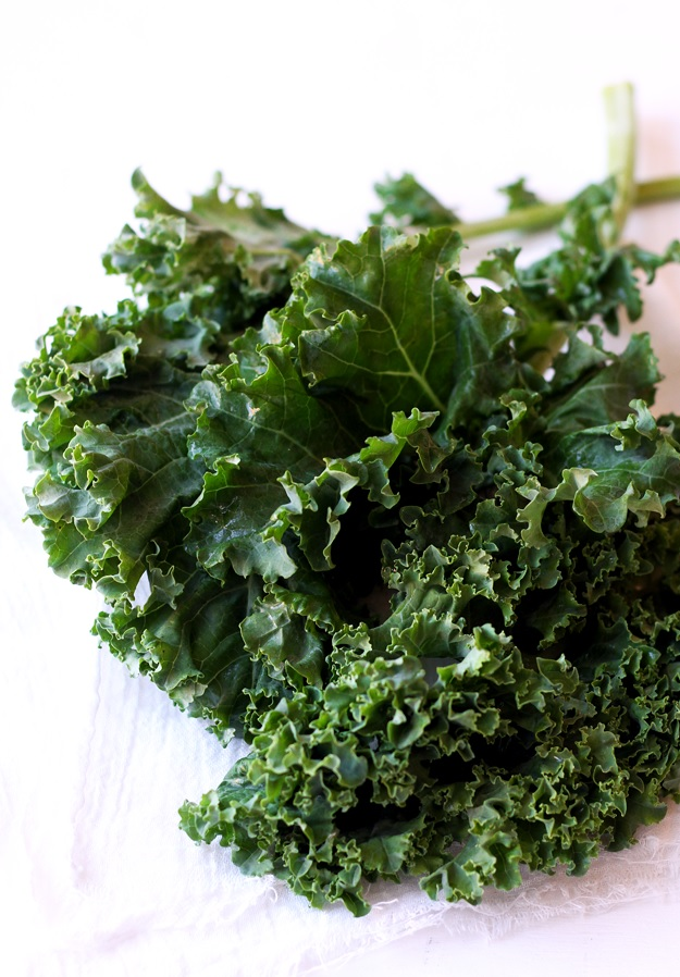Kale for Grain Salad recipe