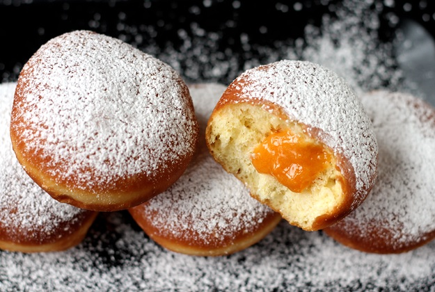 Krapfen Fluffy Austrian Donuts