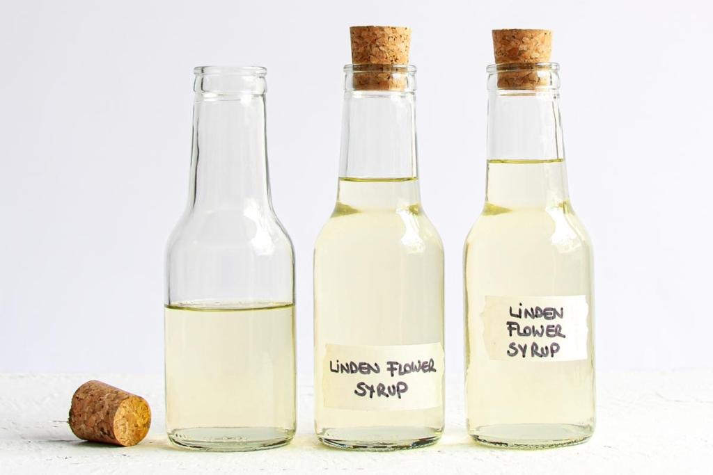 Linden flower syrup recipe easy