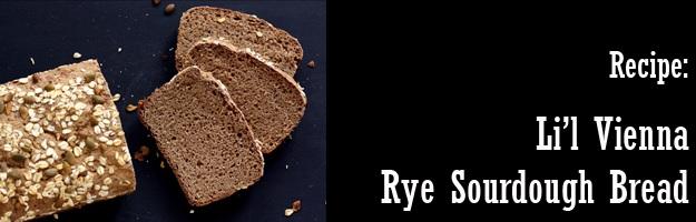 Little Vienna Rye Sourdough Bread