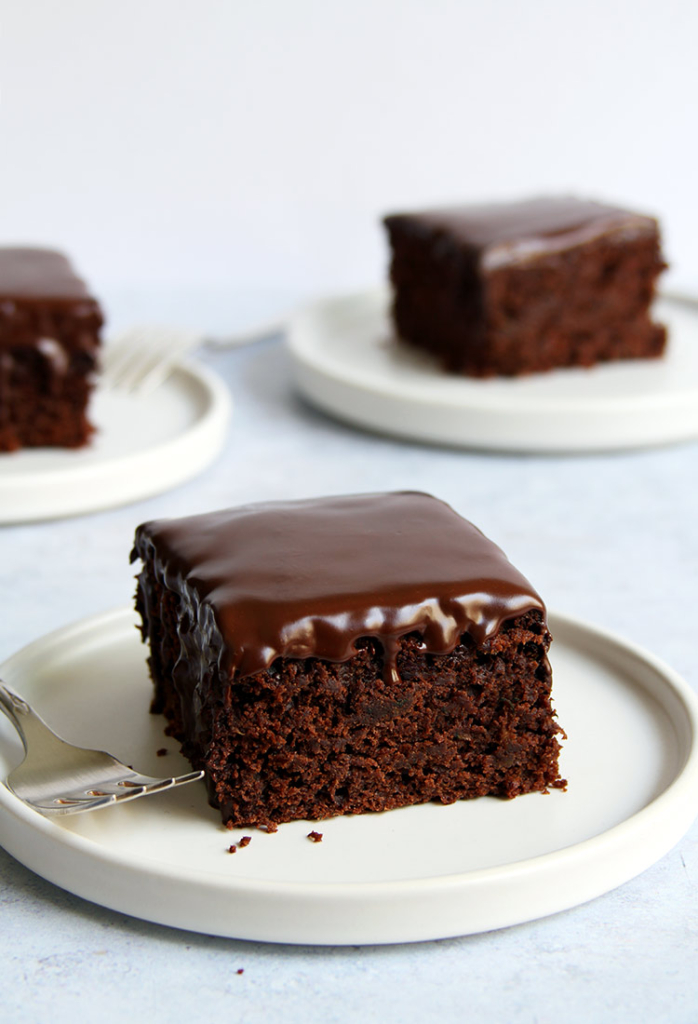 Moist zucchini chocolate cake recipe