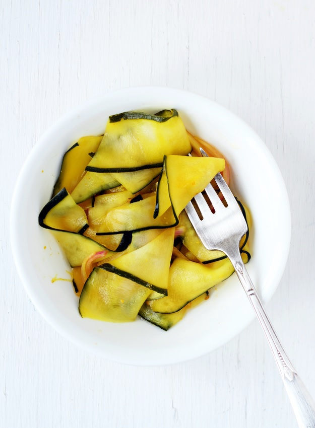 My favorite recipe for Quick Pickled Zucchini