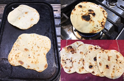 Easy Naan without yeast made by Adriana using a Lil Vienna recipe