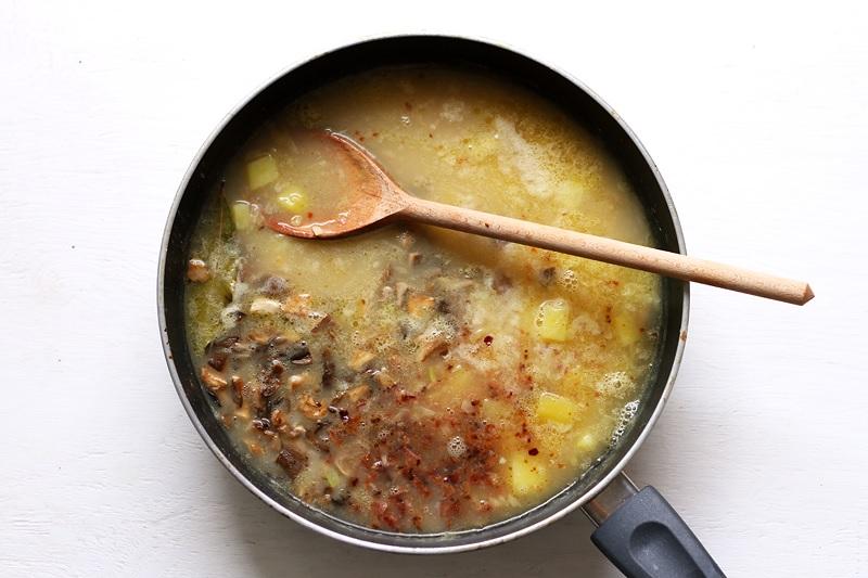 New England Mushroom Chowder